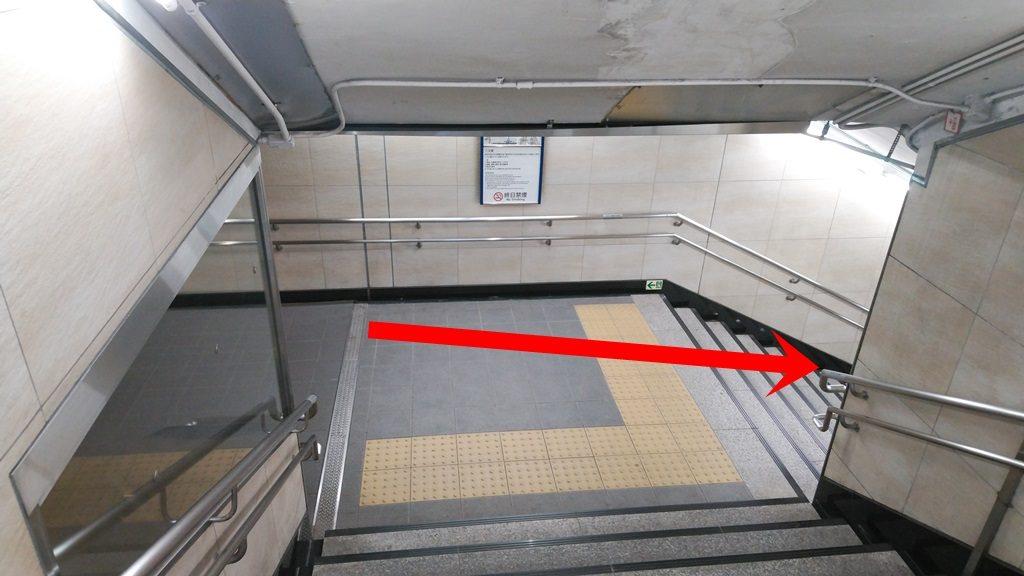 日本橋口から東西線9