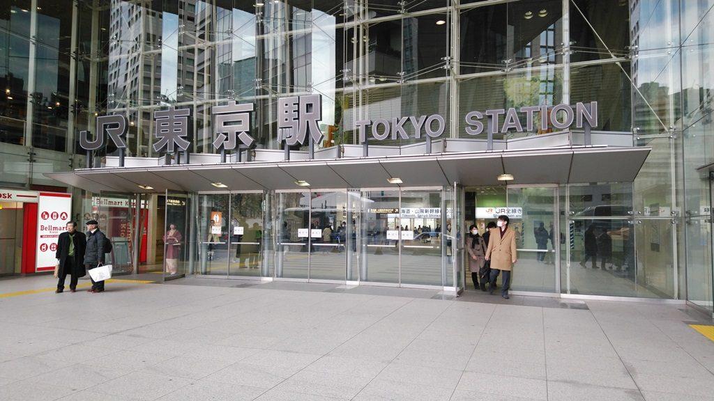 日本橋口東海道新幹線へ2