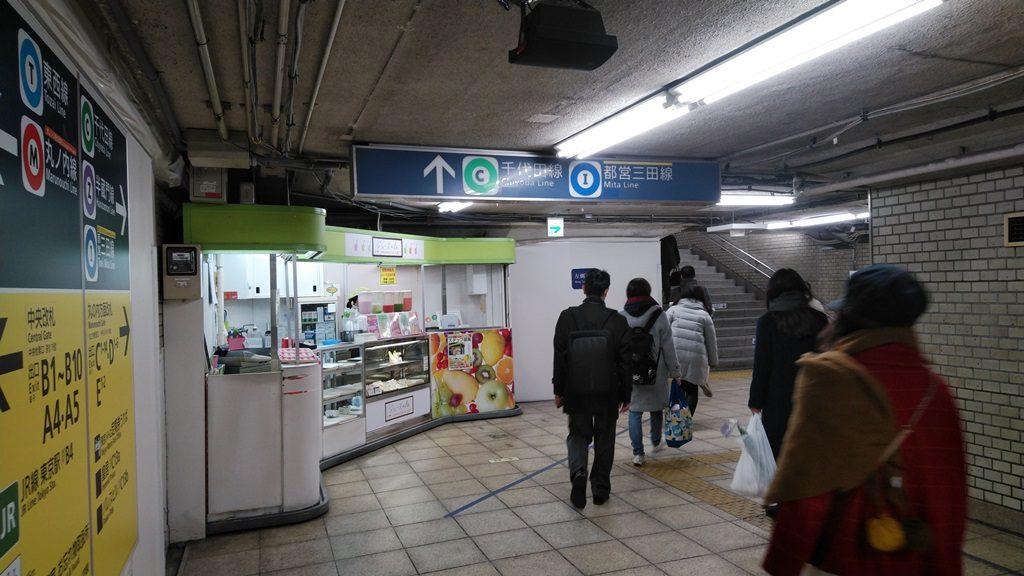 東西線から千代田線4
