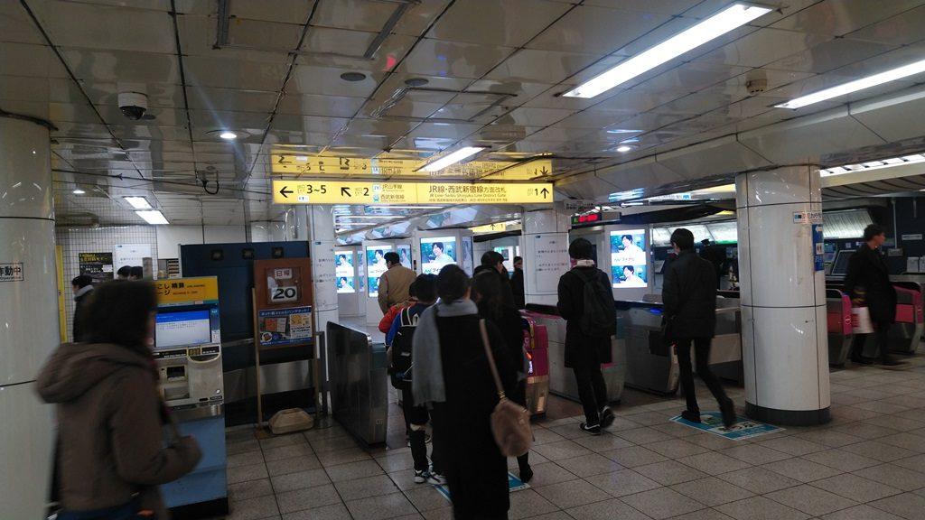 東西線から西武新宿線2
