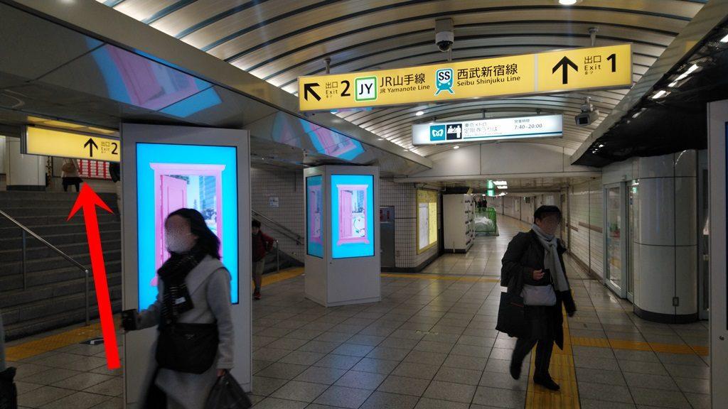 東西線から西武新宿線3