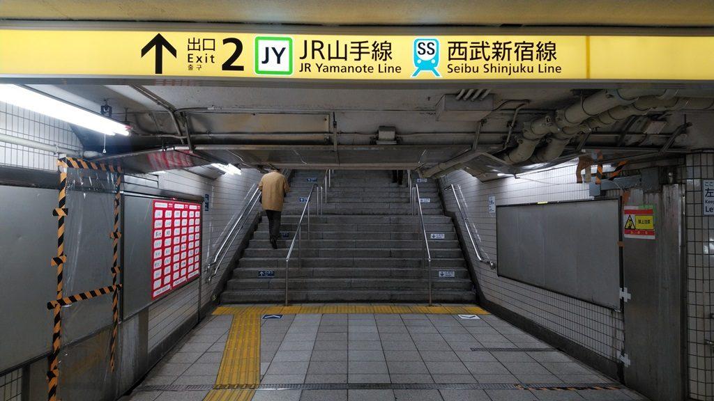 東西線から西武新宿線4