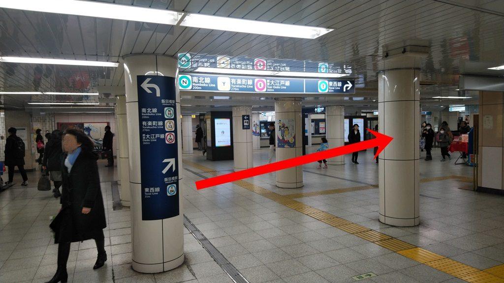 JRから東西線3