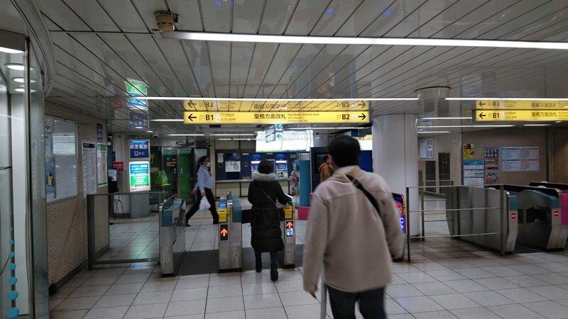 千代田線からJR5