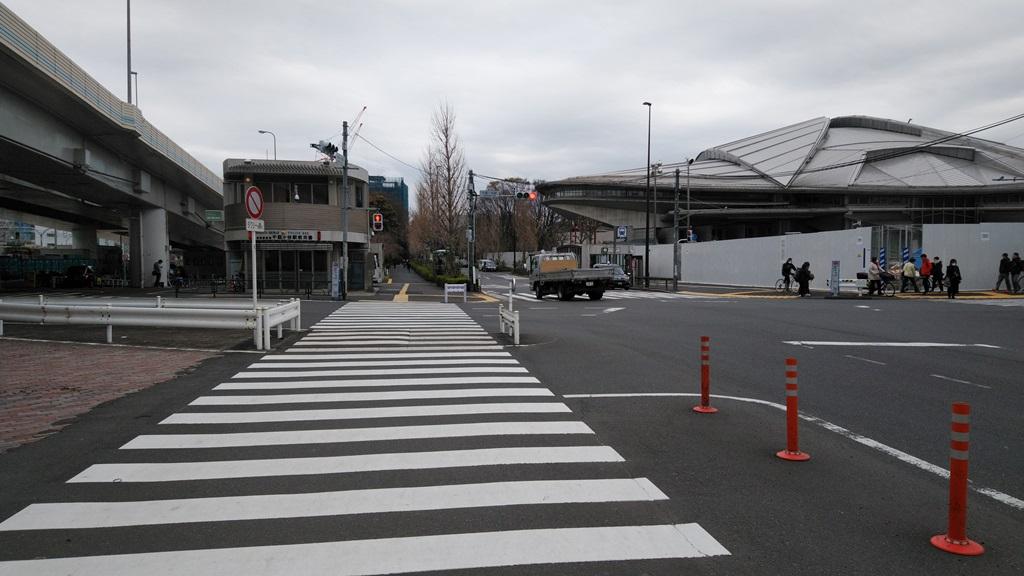 千駄ヶ谷から国立競技場駅2