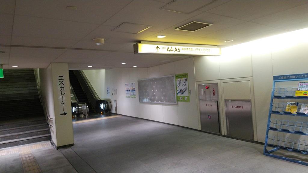 国立競技場駅から千駄ヶ谷4