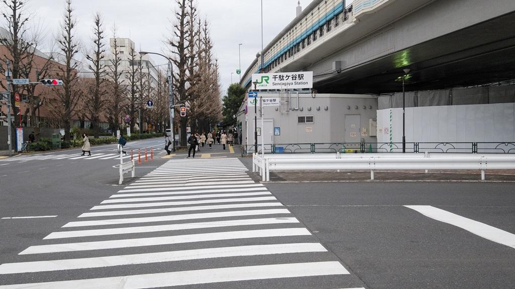 国立競技場駅から千駄ヶ谷7