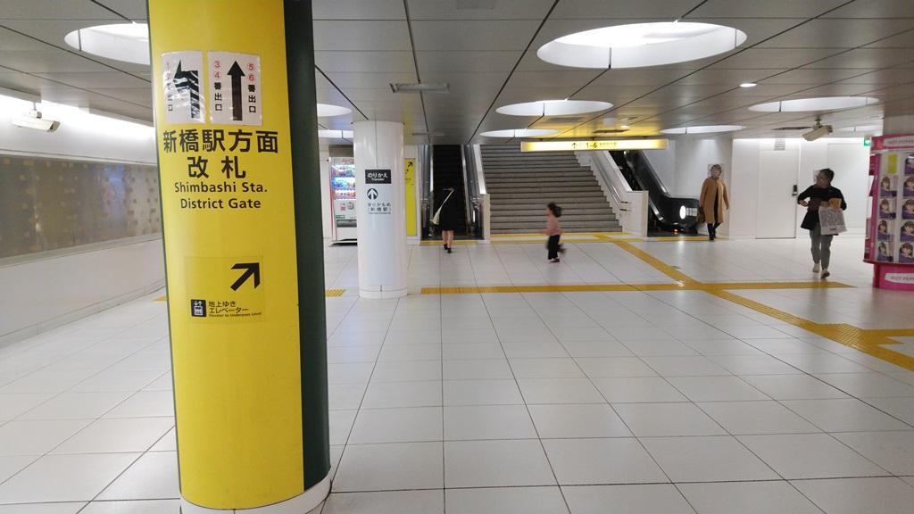 大江戸線から浅草線1