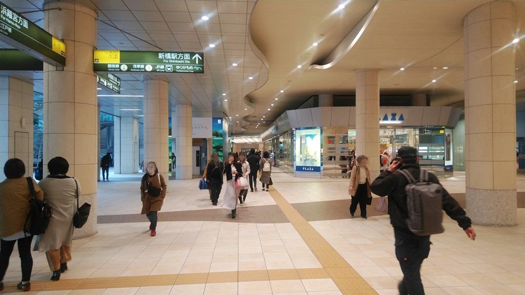 大江戸線から浅草線4