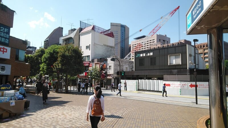新千代田線からJR1