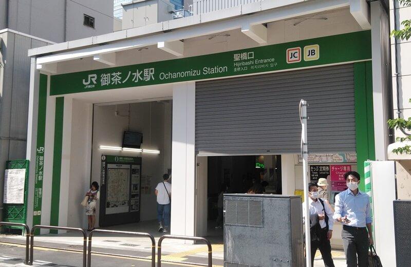 新千代田線からJR4
