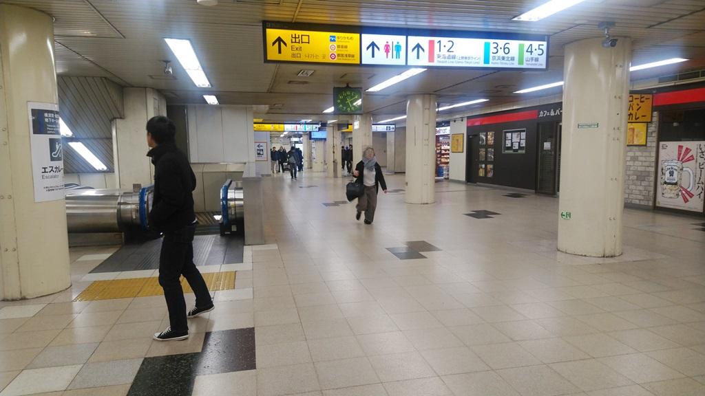 横須賀線から山手線3