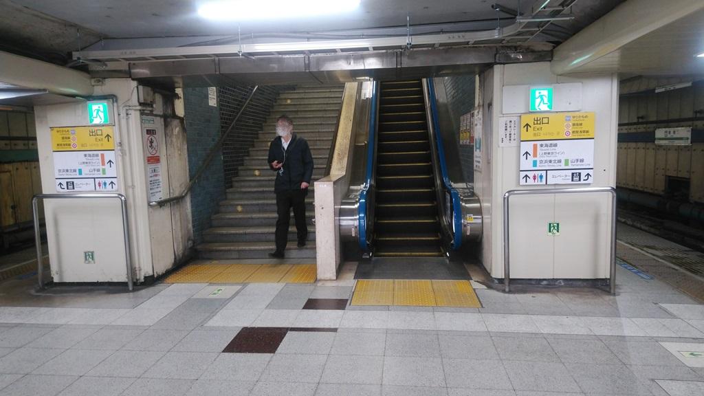 横須賀線から銀座線1