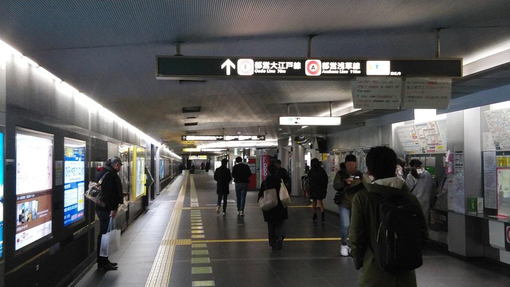 浜松町から大門3