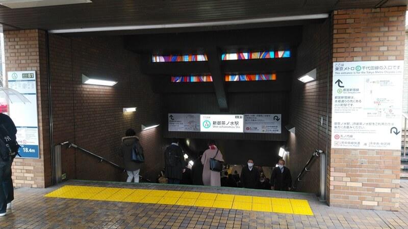 JRから千代田線4