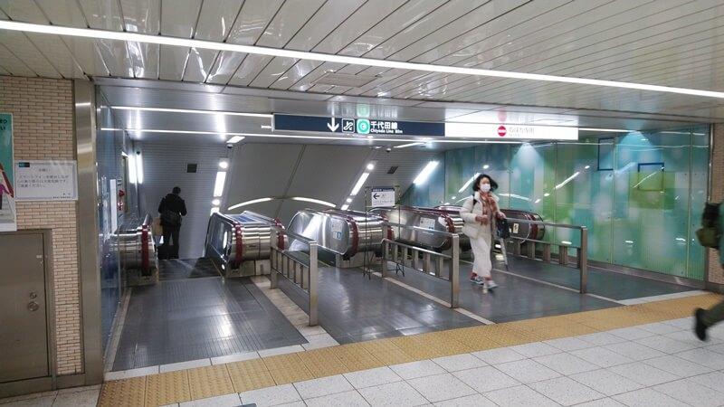 JRから千代田線7