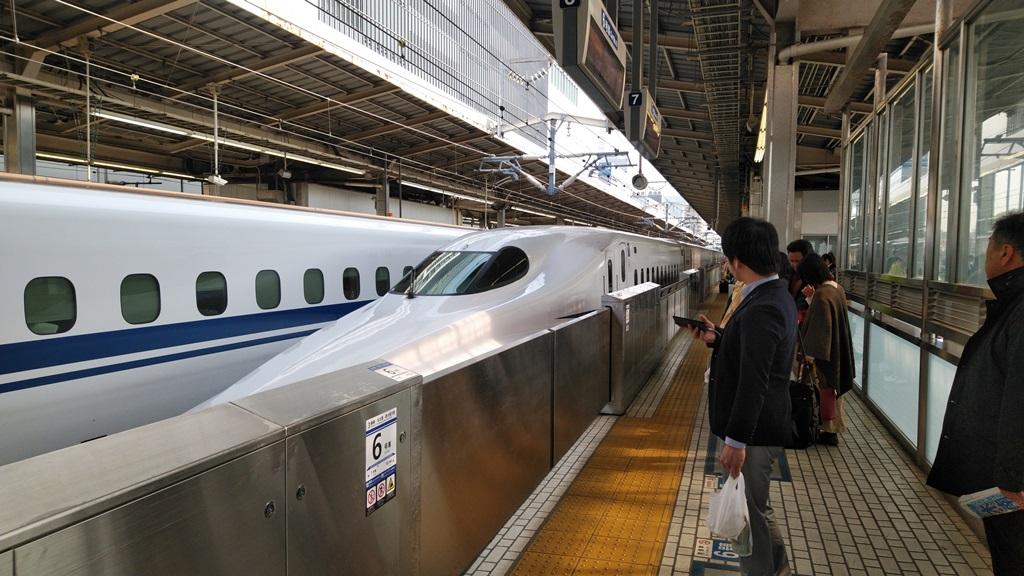 横浜線から新幹線7