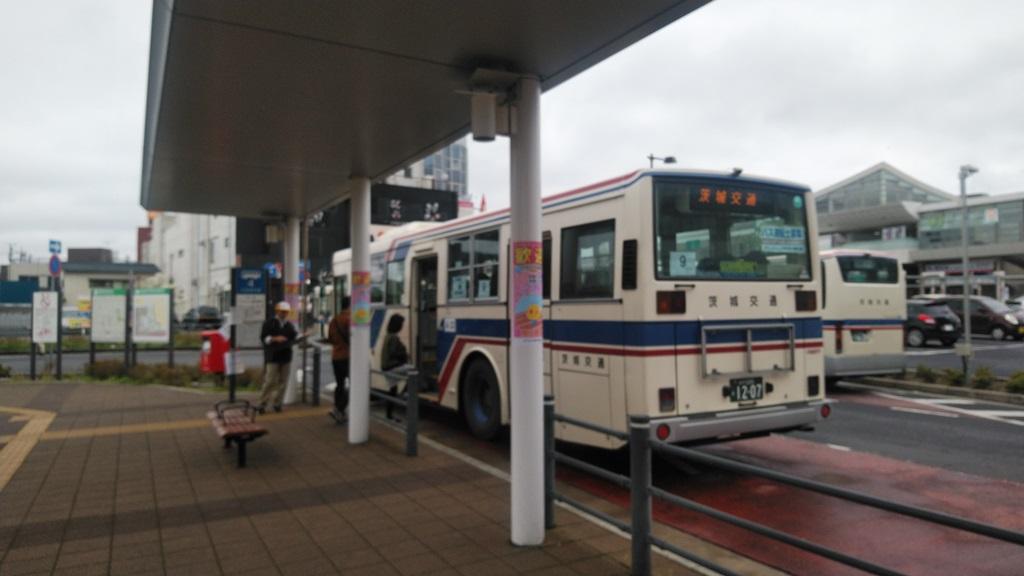 勝田駅から直行バス3