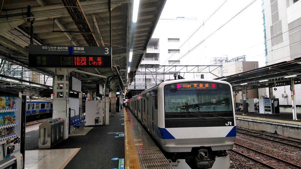 常磐線水戸駅