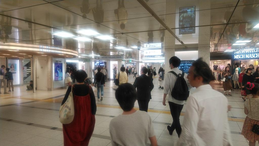 御堂筋から阪急3