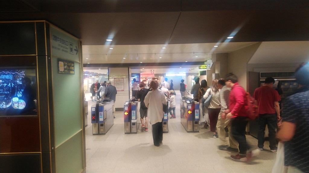 御堂筋から阪急6