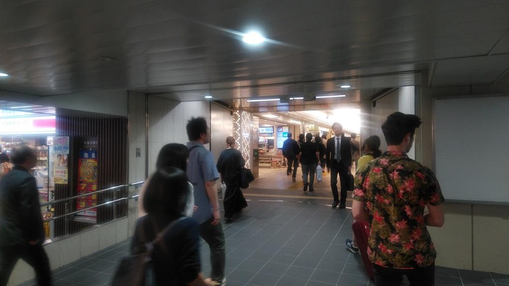 御堂筋から阪急2