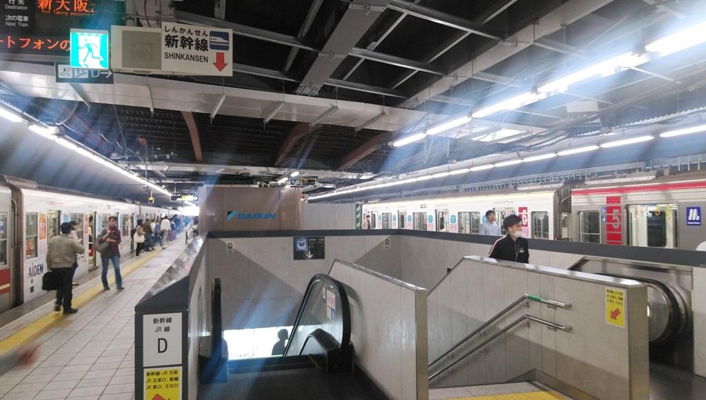 御堂筋線から新幹線1