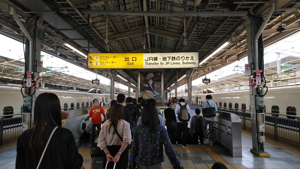 新幹線から在来線1