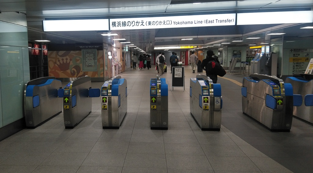 新幹線から横浜線2