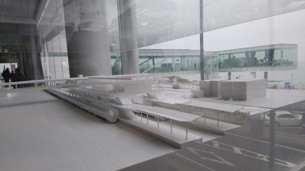 日立駅模型