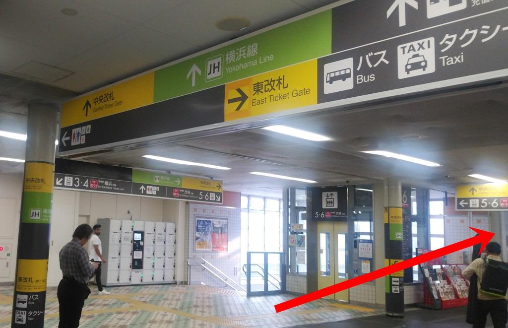 東横線から横浜線2