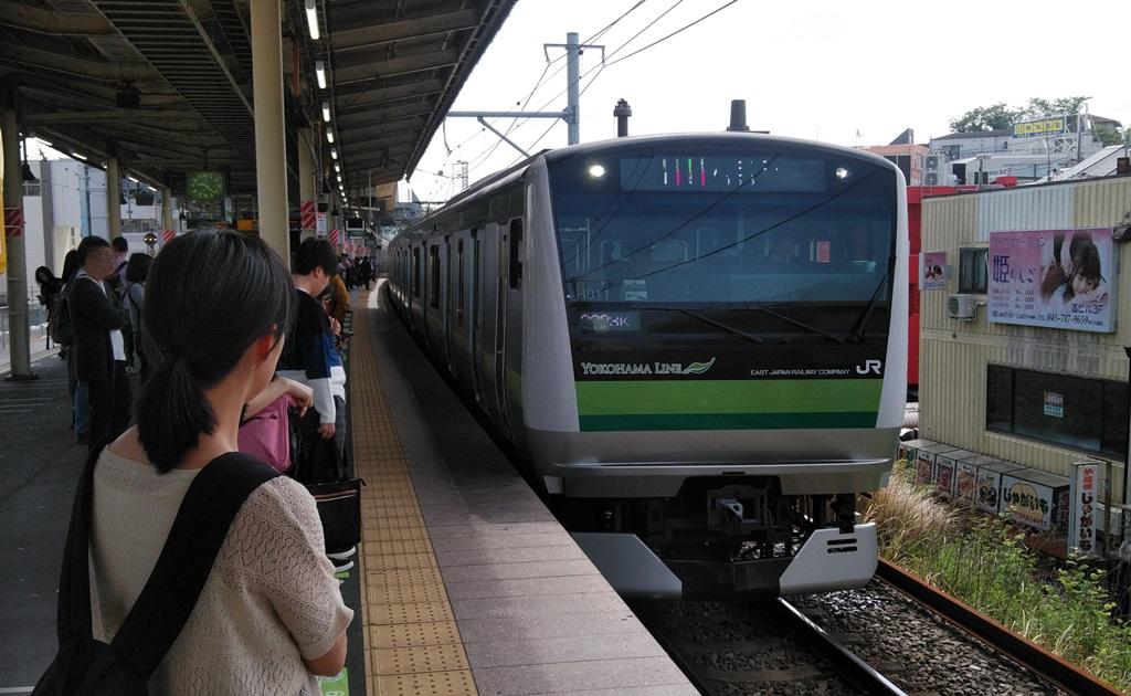 東横線から横浜線6