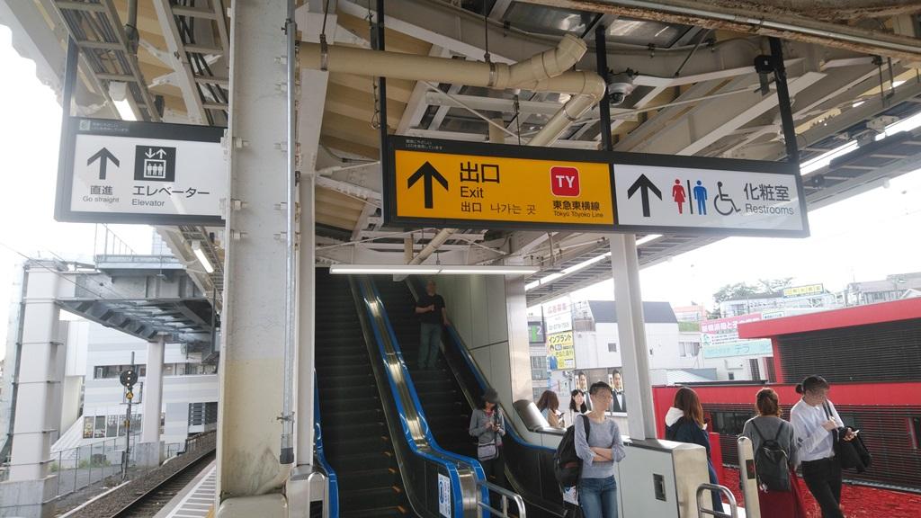 横浜線から東横線1