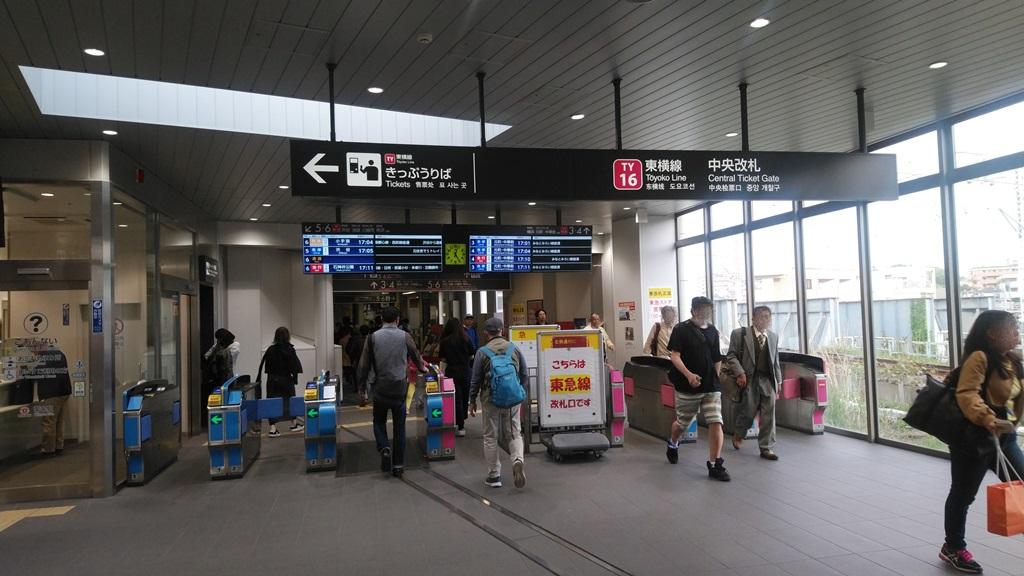 横浜線から東横線3