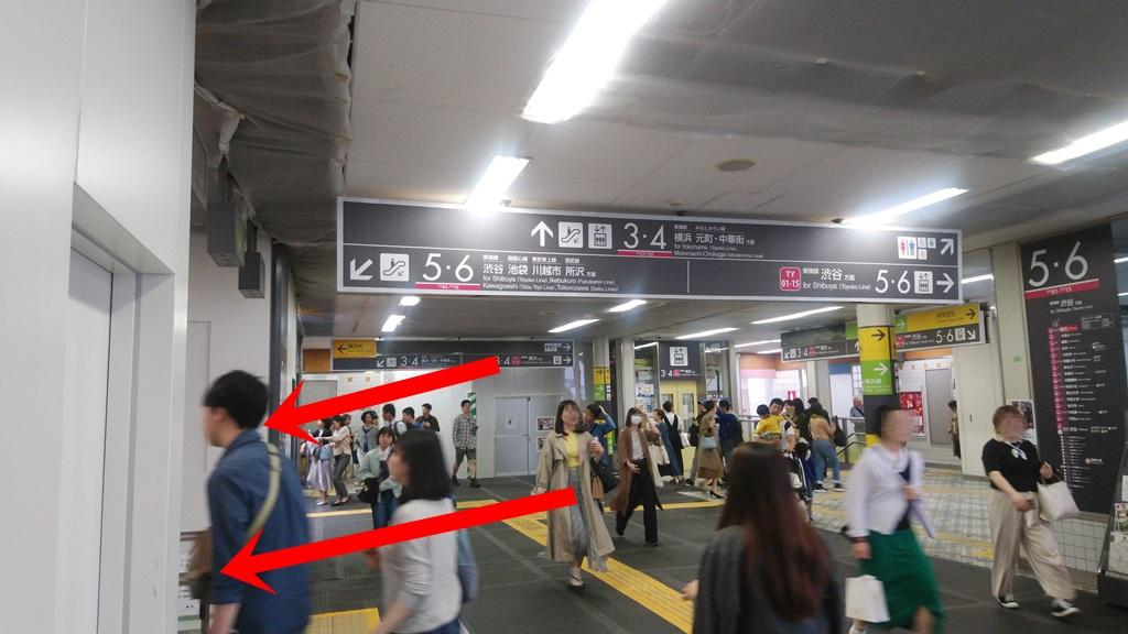 横浜線から東横線4