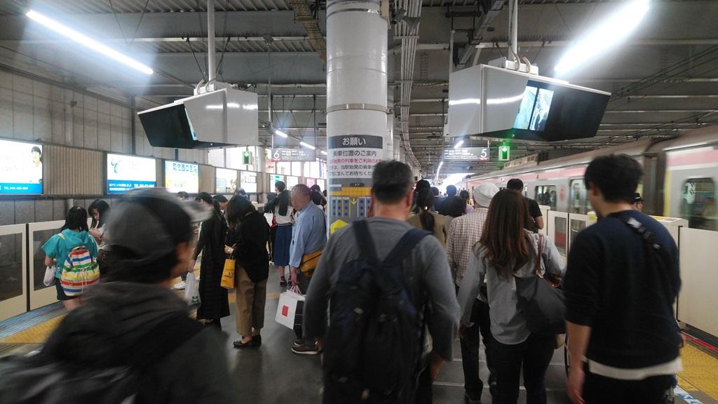 横浜線から東横線5