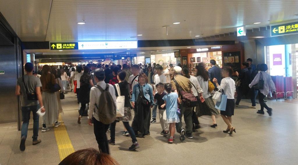 阪急からJR1