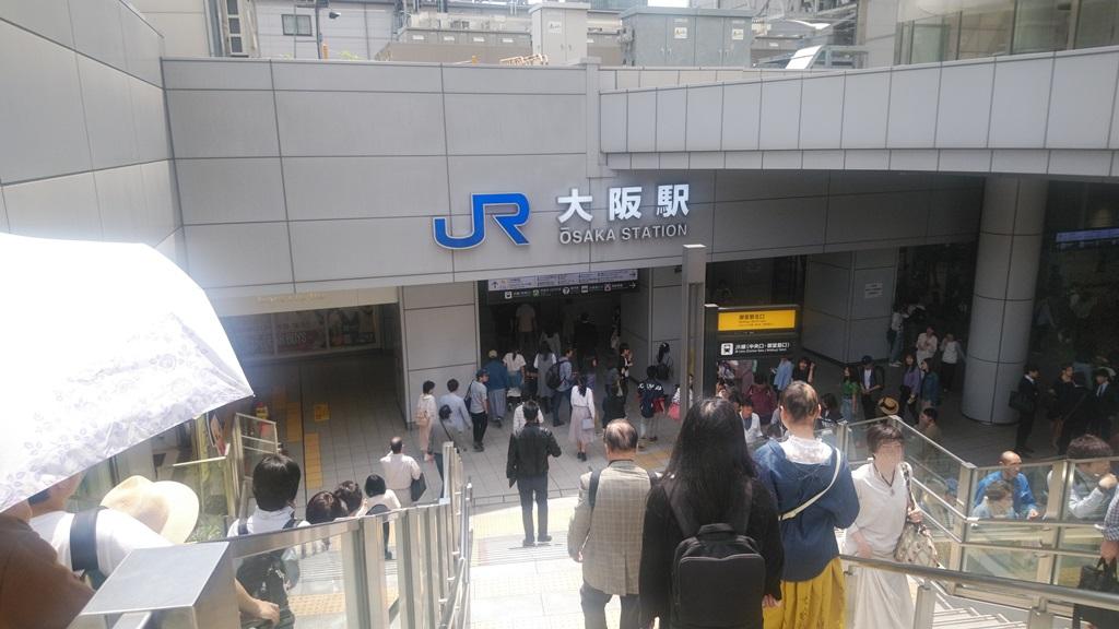 阪急からJR5