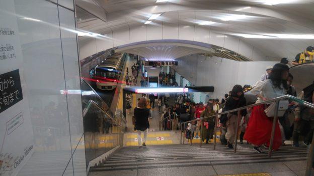 阪神から御堂筋3