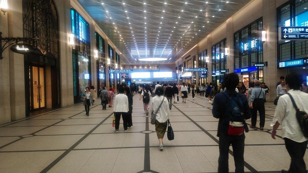 阪神から阪急5