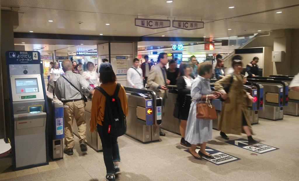JRから阪急9