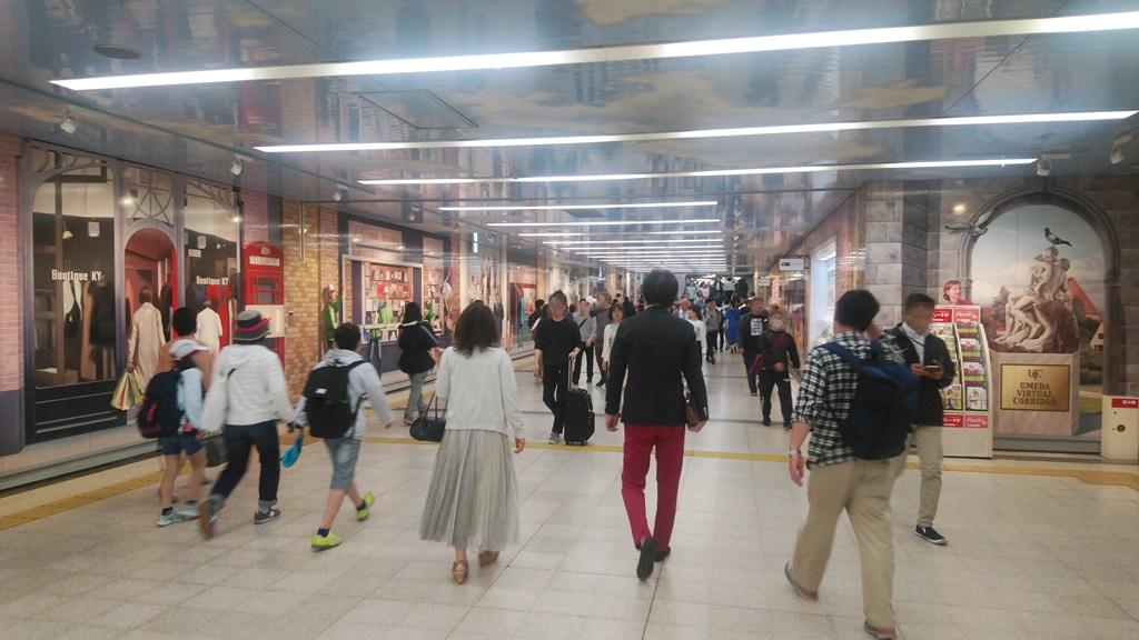 JR桜橋口から阪神5