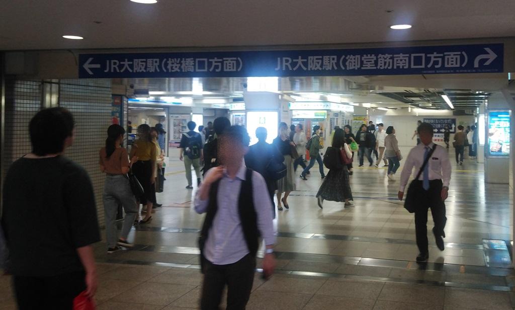 北新地から阪神2