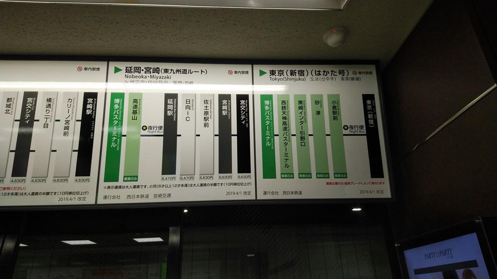 地下鉄からバスタ8