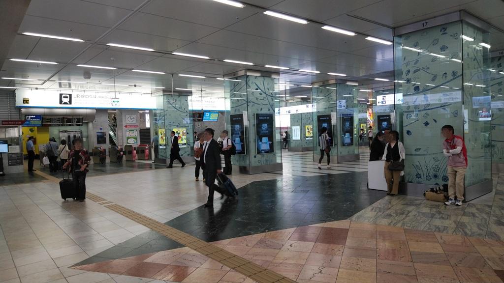 地下鉄中央から在来線5