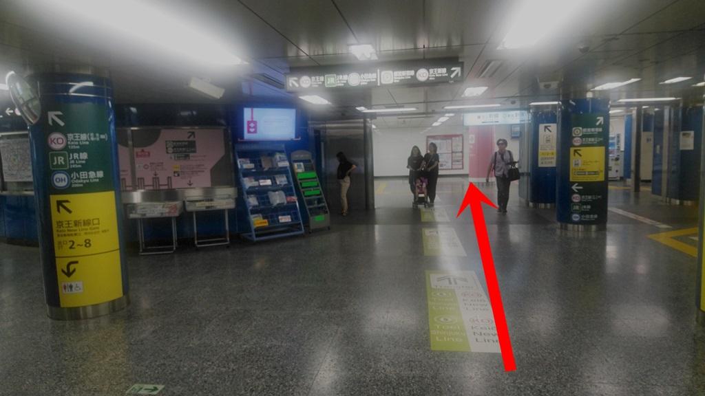 大江戸線から京王新線2