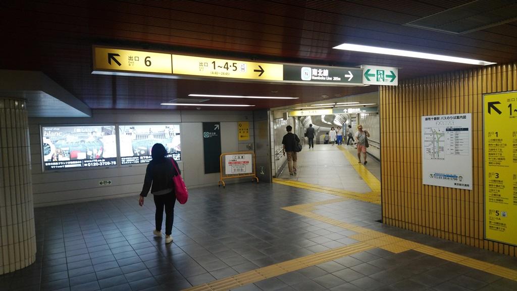 大江戸線から南北線4