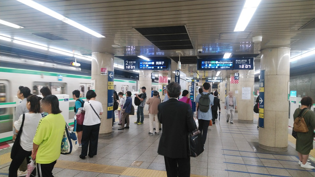 常磐線から千代田線4