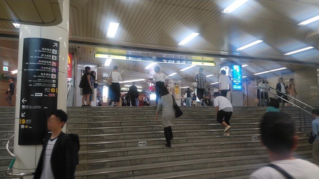 西梅田から阪神2