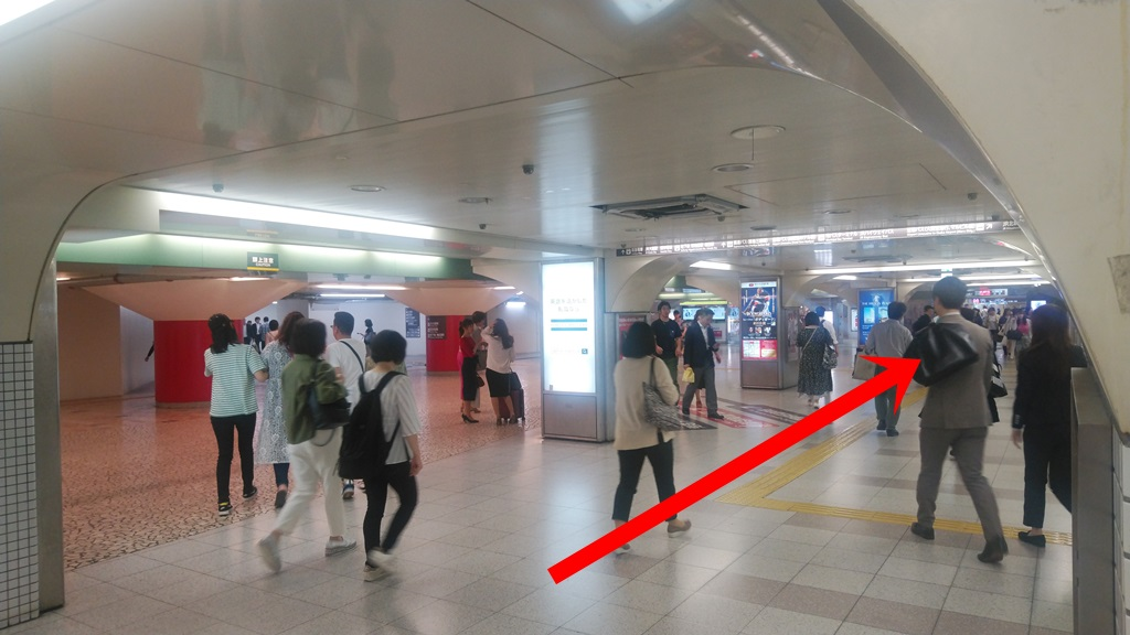 西梅田から阪神3